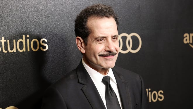 Actor Tony Shalhoub attends Amazon Studios' Golden Globes Celebration at The Beverly Hilton Hotel in January.