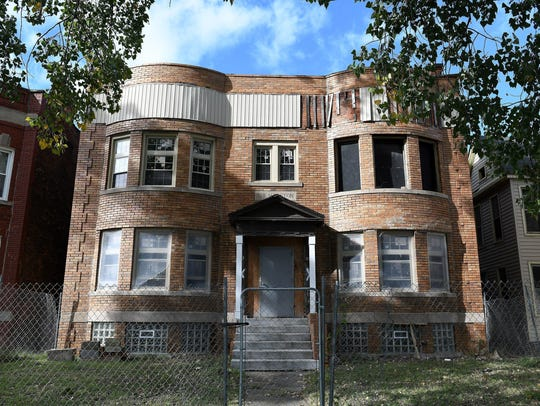 253 and 257 Marston Street in Detroit. The property