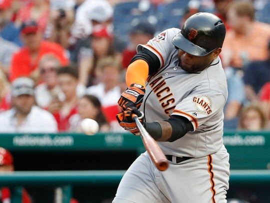 Pablo Sandoval, third baseman, San Francisco Giants