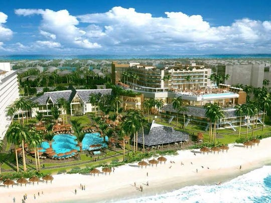 Biggest business news of the year is the unveiling of the Marco Island Marriott resort's expansion plans at more than $250 million. This is a rendering.