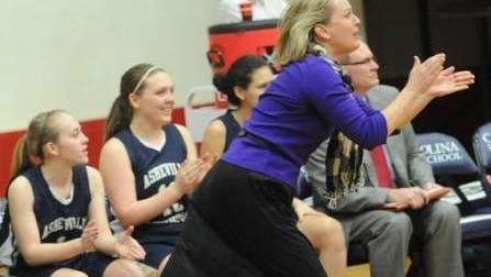 Asheville Christian Academy girls basketball coach Dottie Edwards.