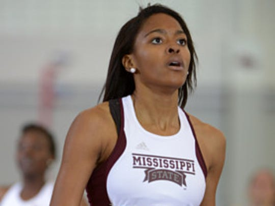 Former Mississippi State star Erica Bougard will represent the U.S. at the World Championships next month.