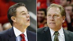 Coaches like Louisville's Rick Pitino and Michigan