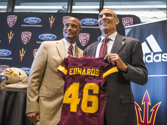 NCAA Football: Arizona State-Herman Edwards Press Conference