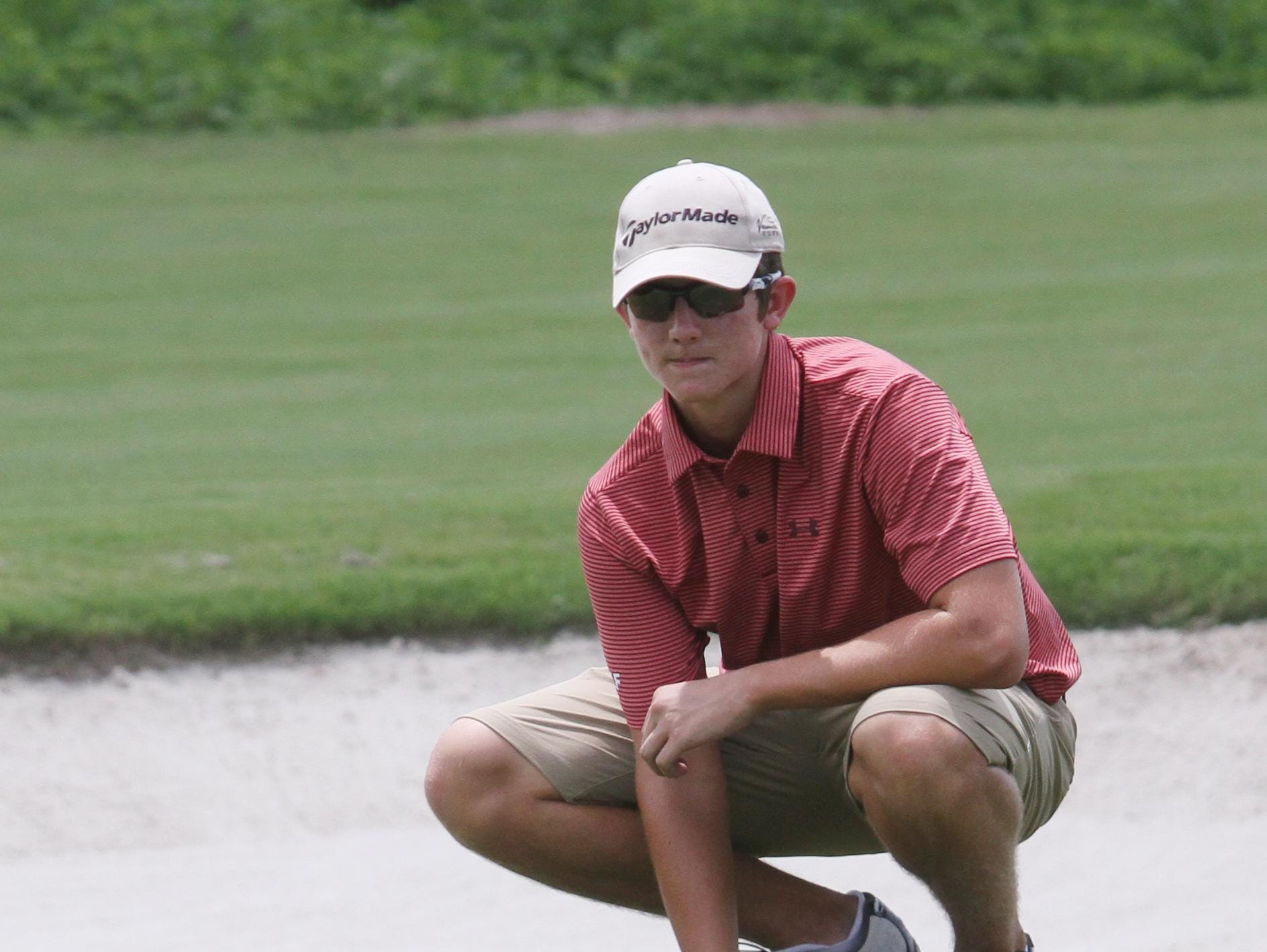 ECS golfer Shane Reynolds repeated as District A-7 champion Monday.
