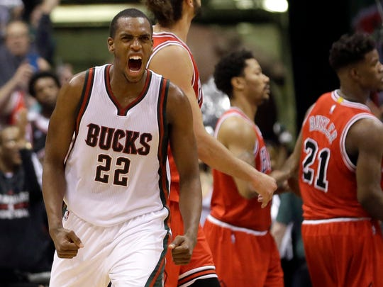 Milwaukee Bucks forward Khris Middleton reportedly has agreed to a five-year, $70 million deal to remain with the team.