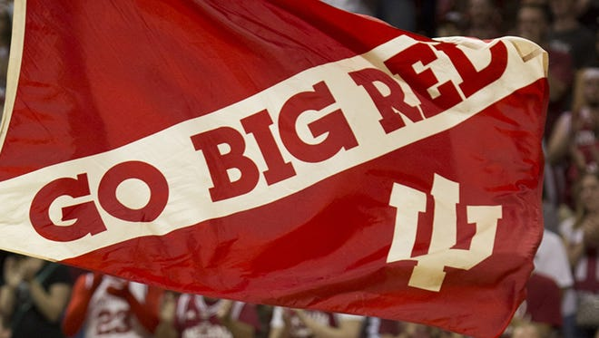 'Go Big Red' IU flag