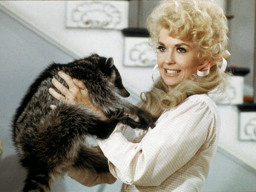 Donna Douglas as Elly May Clampett from the 1960's