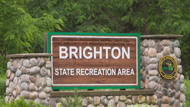 The Brighton State Recreation Area.
