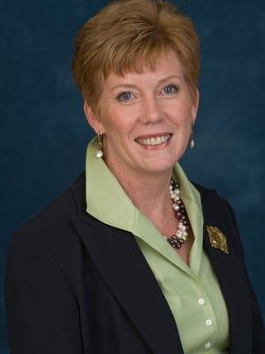 Helen Stimson, the new president of the Delaware BioScience Association.