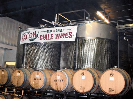Courtesy Photo   St. Clair Winery in Deming has launched a Hatch Chile infused wine through federal funding available through the USDA.