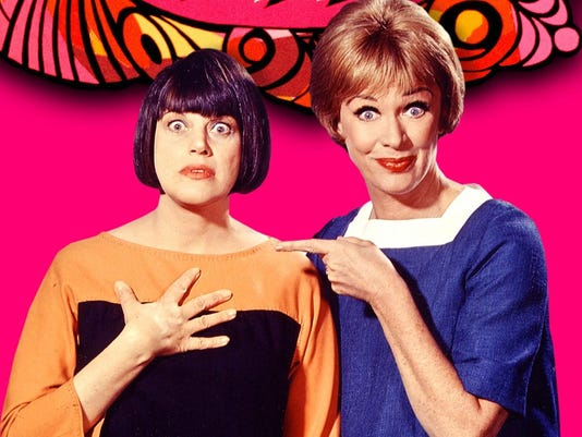 1. Kaye Ballard and Eve Arden promotion for The Mothers-in-Law - NBC TV
