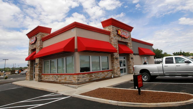 The new Carl's Jr. location is due to open Sunday at 2300 E. Main St. in Farmington.
