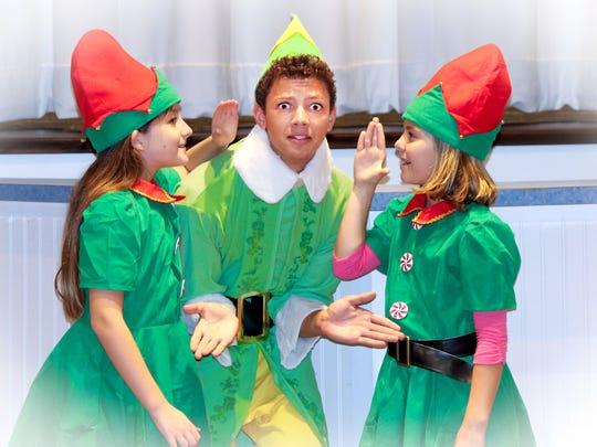 "Creative Theater Workshop's ""Elf Jr."""