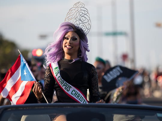 The second annual Corpus Christi pride parade downtown on Friday, June 8, 2018.