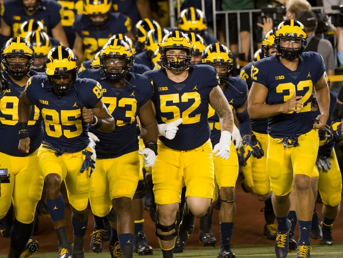 Go through the gallery to view the Michigan football