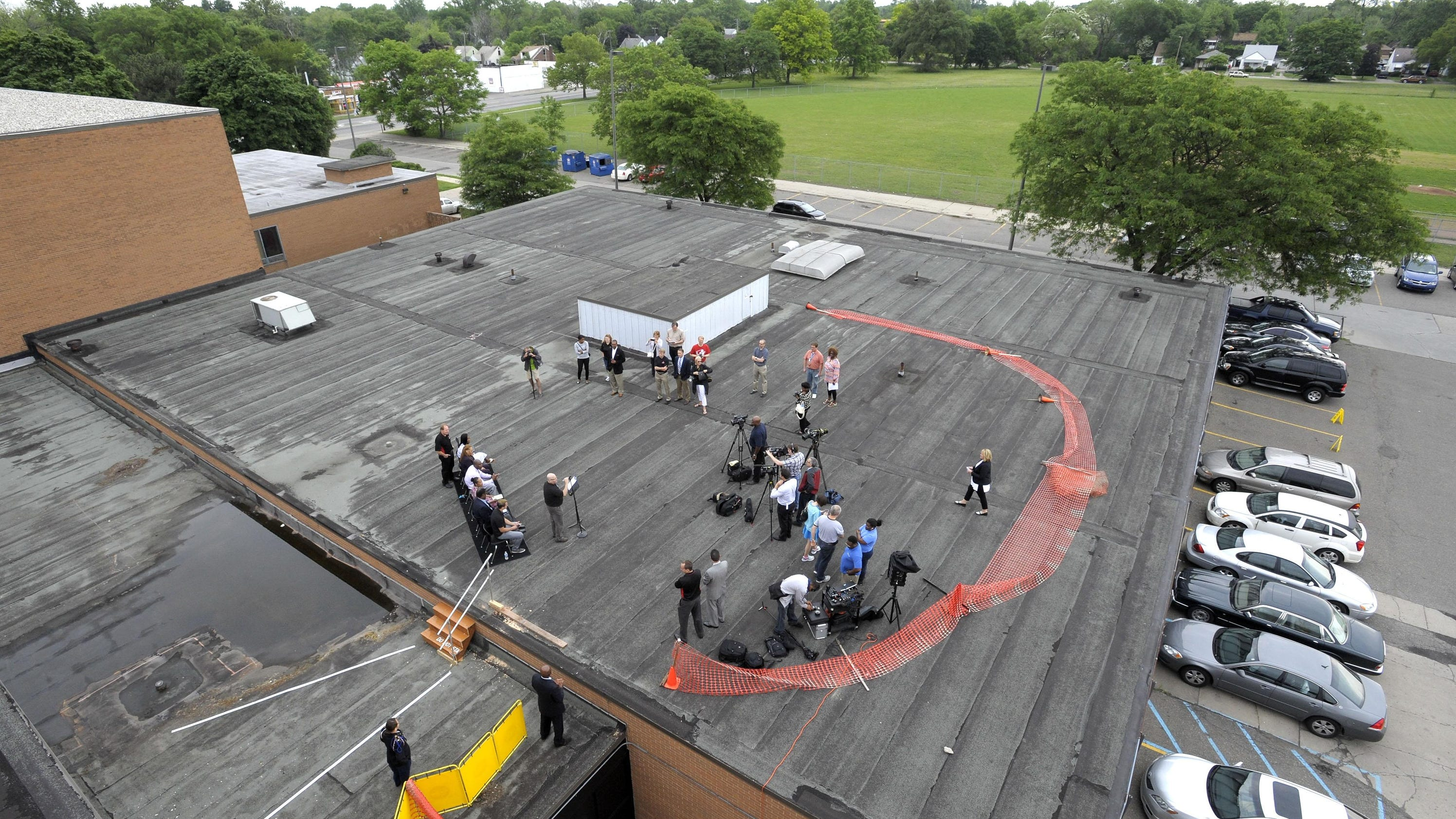 Life Remodeled Osborn project starts on top: the roof