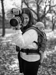 Rochester-based photographer Jess Kamens snaps a photo