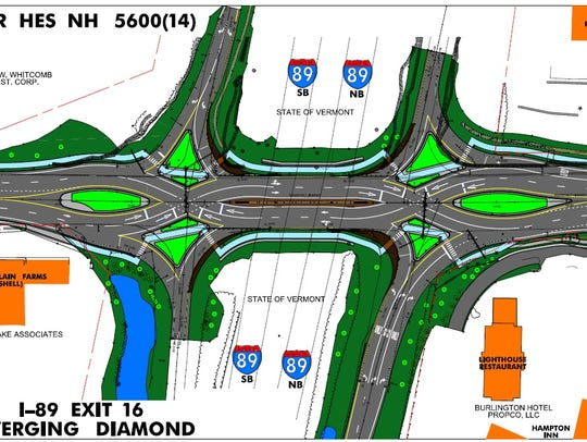 A new design for Interstate 89 and U.S. 7 in Colchester
