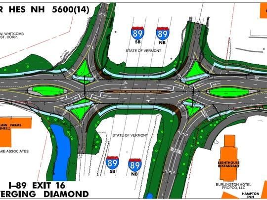 A new design for Interstate 89 and U.S. 7 in Colchester is underway at the Vermont Agency of Transportation, despite delays.