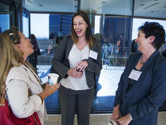 Sheila Lehker, Desirae Outcalt and Nancy Tengler