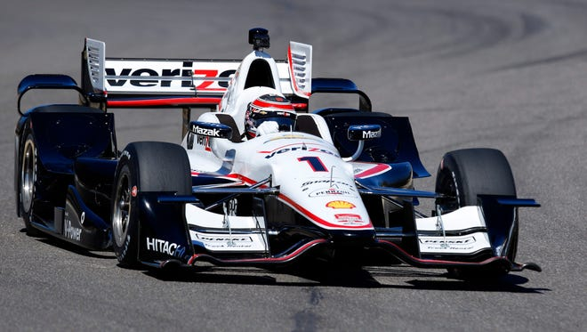 Will Power was the fastest during testing at Barber Motorsports Park last week with a lap of 1 minute, 7.3118 seconds.