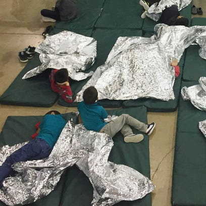 In this photo provided by U.S. Customs and Border Protection,