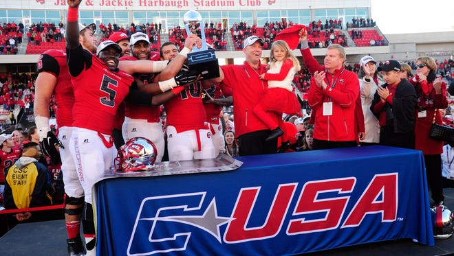 Western Kentucky finished inside the top 25 and won the Conference USA football championship in 2015. Coaches say it may take a run like Boise State to help league perception.
