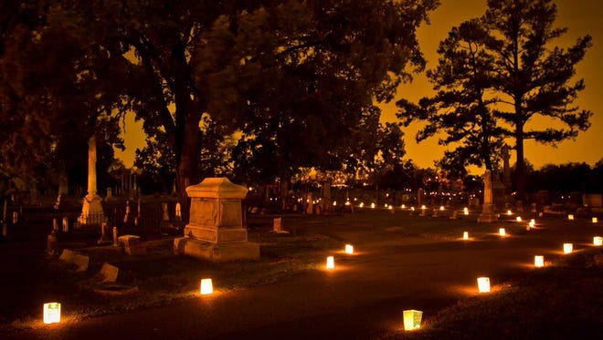 The Candlelight Cemetery Tour returns at the Gallatin City Cemetery Oct. 7.