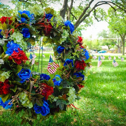 Wreath Ceremony held in honor of Memorial Day at Angelo State