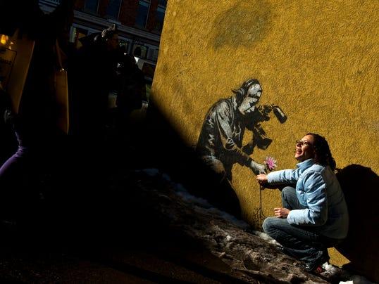 Banksy mural in Utah
