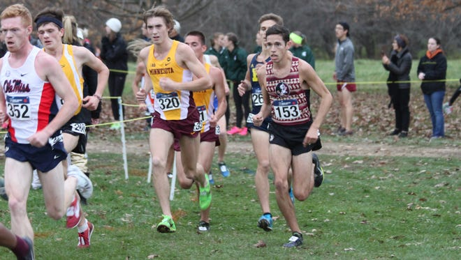 Stanley Linton helped FSU finish 29th in the NCAA Championships.