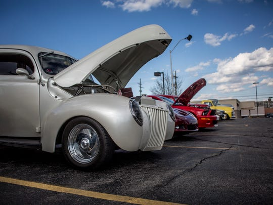 "Classic cars are on display as part of a weekly gathering Tuesday, May 3, 2016 at Big Boy in Fort Gratiot. Biggby Coffee, 2856 Krafft Road, is starting a weekly ""Cars and Coffee"" gathering every Sunday from 9 a.m. to 2 p.m."