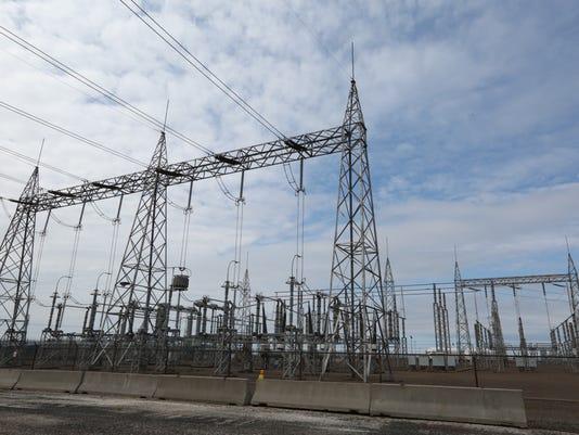 FitzPatrick Nuclear Power Plant near Oswego April 26, 2016