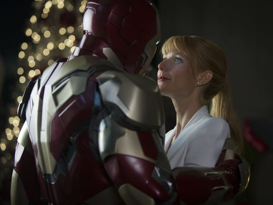 Tony Stark/Iron Man (Robert Downey Jr.) and Pepper