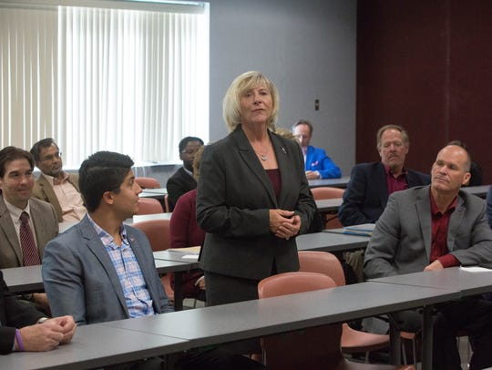 Debra Hicks, chair of the New Mexico State University