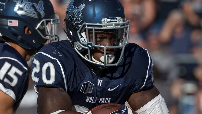 Nevada's James Butler was named the team's MVP.