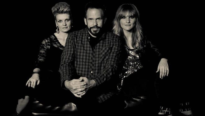 John Lemonis, center, his wife Michaela, right, and Tonja Rose are members of Crosby Lane.