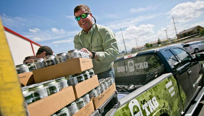 Dog Tag Brewing Co. founder Seth Jordan said the brewery is working on national distribution.
