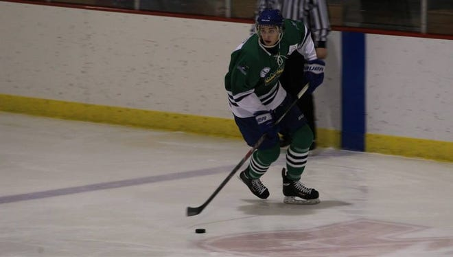 Riverkings captain Austin Luxford and the rest of the team are preparing for a playoff run in the USPHL.