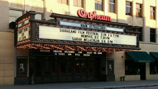 The historic Orpheum Theatre welcomes the Siouxland Film Festival every February to Sioux City.