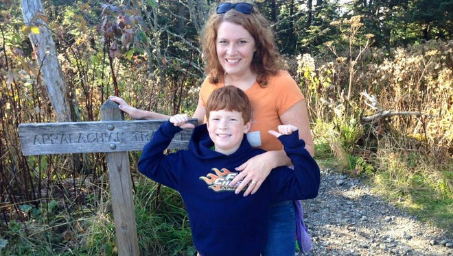Dyslexia advocate Julya Johnson is supporting legislation that would increase efforts to identify and treat dyslexia. Her son, David, who is in fourth grade, is dyslexic.