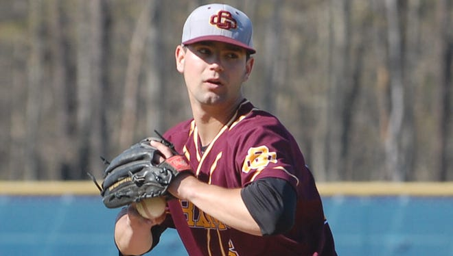 Gloucester Catholic senior right-hander Tyler Mondile is scheduled to face Jason Groome of Barnegat in Monday's nonleague matchup at Campbell's Field.