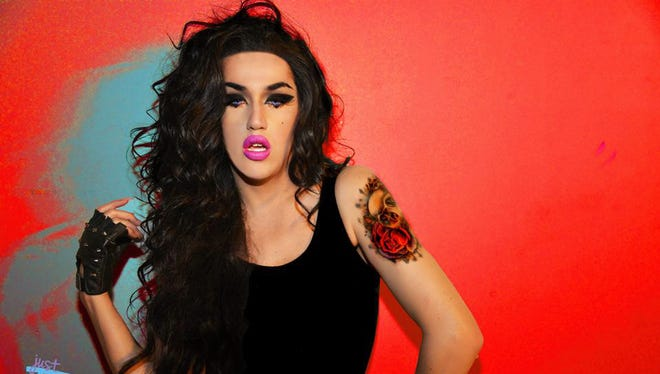 """""""Americn Idol"""" and """"RuPaul's Drag Race"""" contestant Adore Delano will be among the headliners on Saturday during the El Paso Sun City Pridefest."""