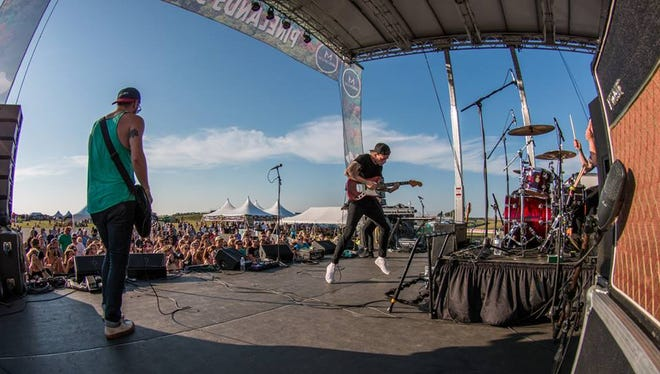 CRUISR performs during last year's Pinelands Music Festival. This year's festival will be held on Oct. 9 at the Cumberland County Fairgrounds in Millville.