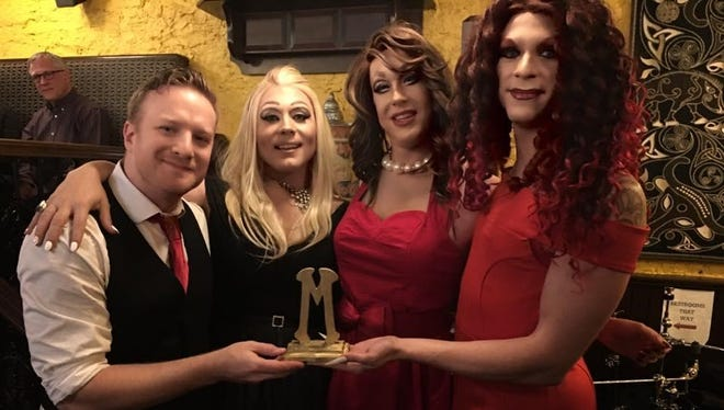 The Mister Sisters, from left, are Seth Lutter, Lexi Tucker-Dixon, Julie Yard and Kola Stomey. (Not pictured: Virgo Fatale).