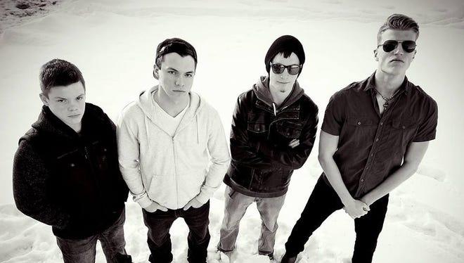 Call of the Awakened, from left, consists of Noah Harrison, Jayden Harrison, Lance Rader and Dillon Kuntz.