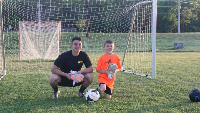 Kyle Wolfenbarger began playing soccer at age 5 and has been invited to join the All-Army team.