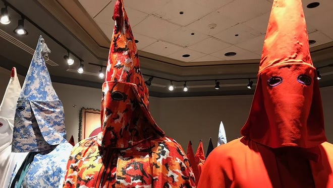Baltimore artist Paul Rucker said York College may have missed an opportunity to connect with the local community by barring the public from his REWIND exhibit that was on display at Wolf Hall.