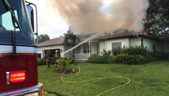 Thursday fire in Port St. Lucie
